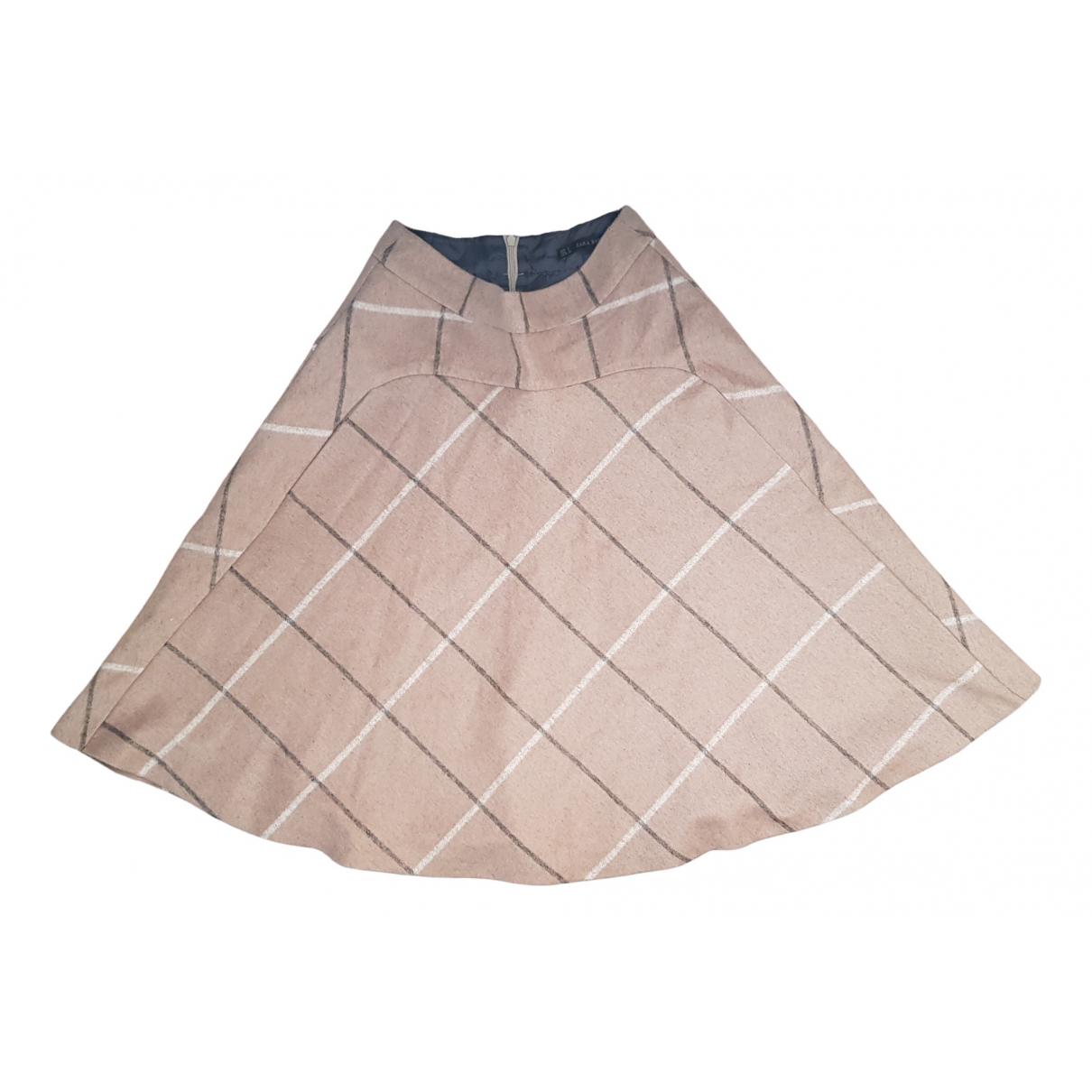 Zara \N Beige Wool  top for Women S International