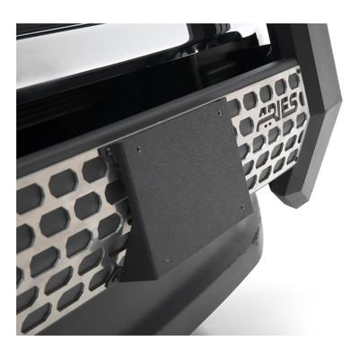 Aries Offroad AdvantEDGE Bull Bar License Plate Bracket (black) - 2169000