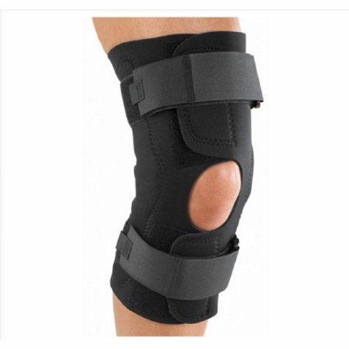 Knee Brace Medium 18 to 20-1/2 Inch Cir - Black 1 Each by DJO