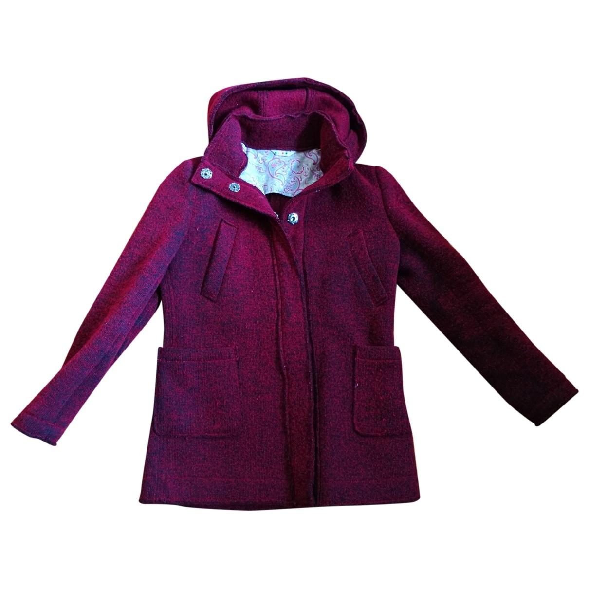 Manuel Ritz \N Jacke in  Rot Wolle