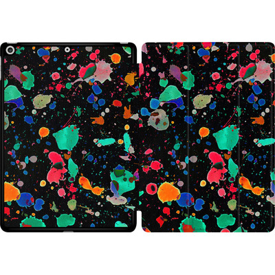 Apple iPad 9.7 (2017) Tablet Smart Case - Colourful Splatter von Amy Sia