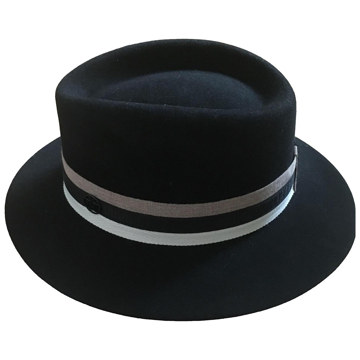 Maison Michel \N Black Wool hat for Women S International