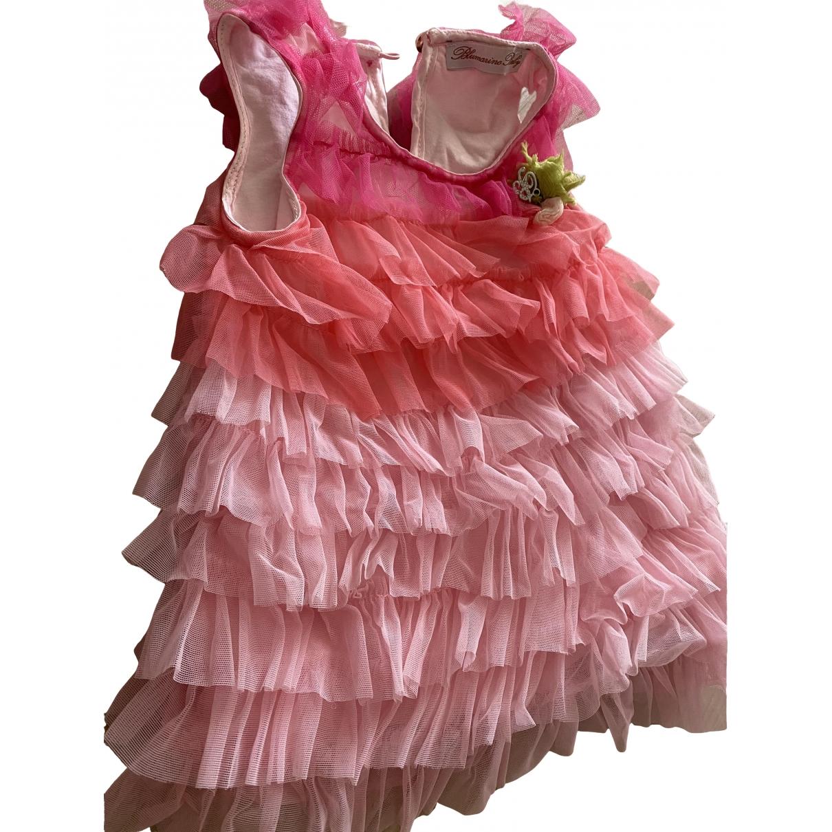 Blumarine - Robe    pour enfant - rose