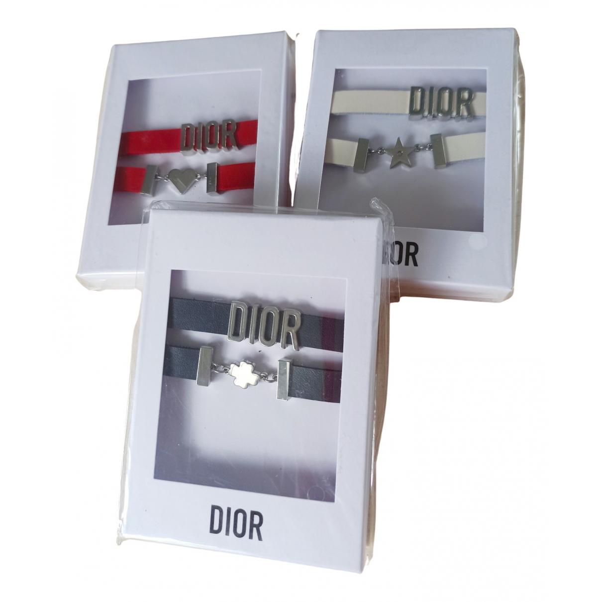 Dior N Multicolour Leather bracelet for Women N