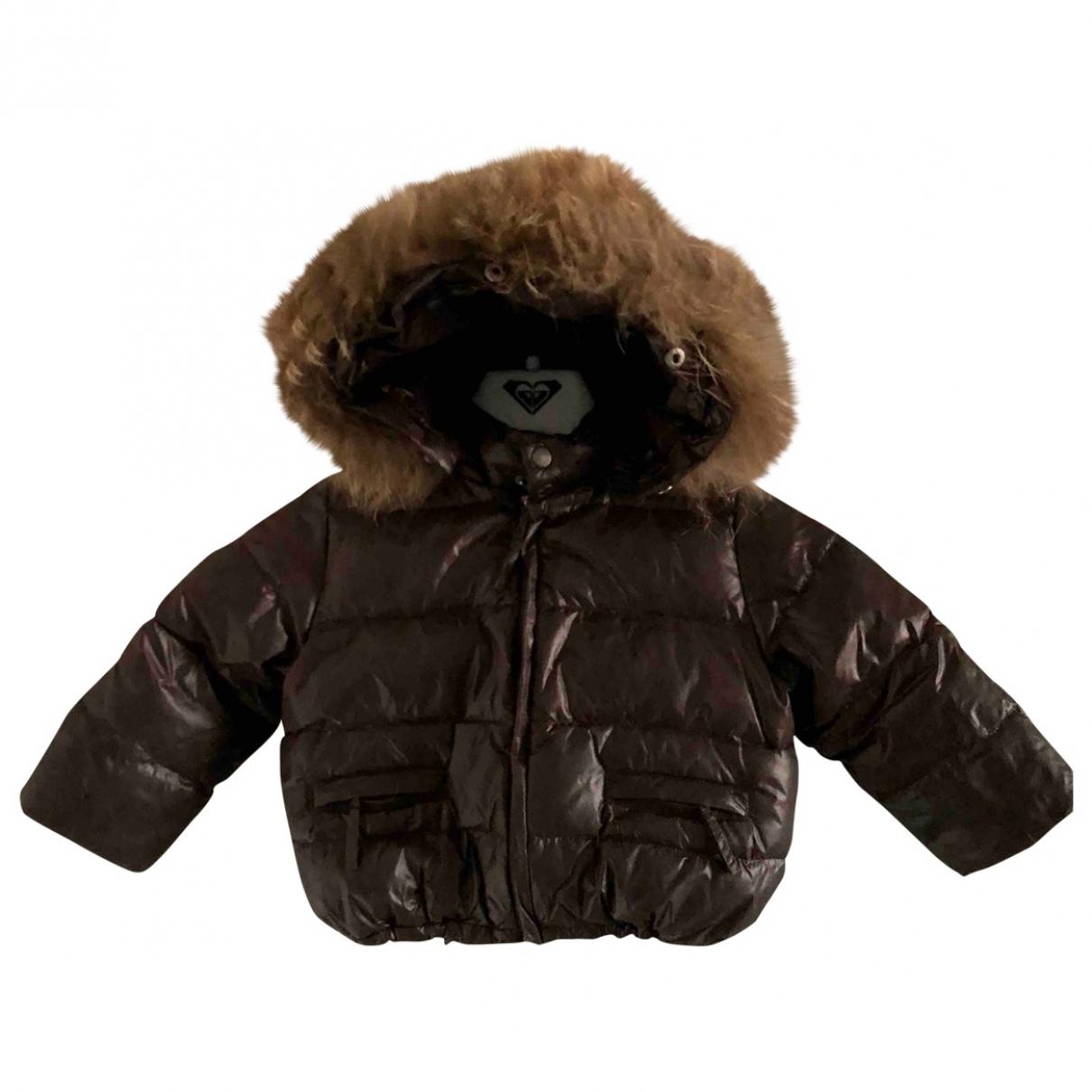Bonpoint - Blousons.Manteaux   pour enfant - marron