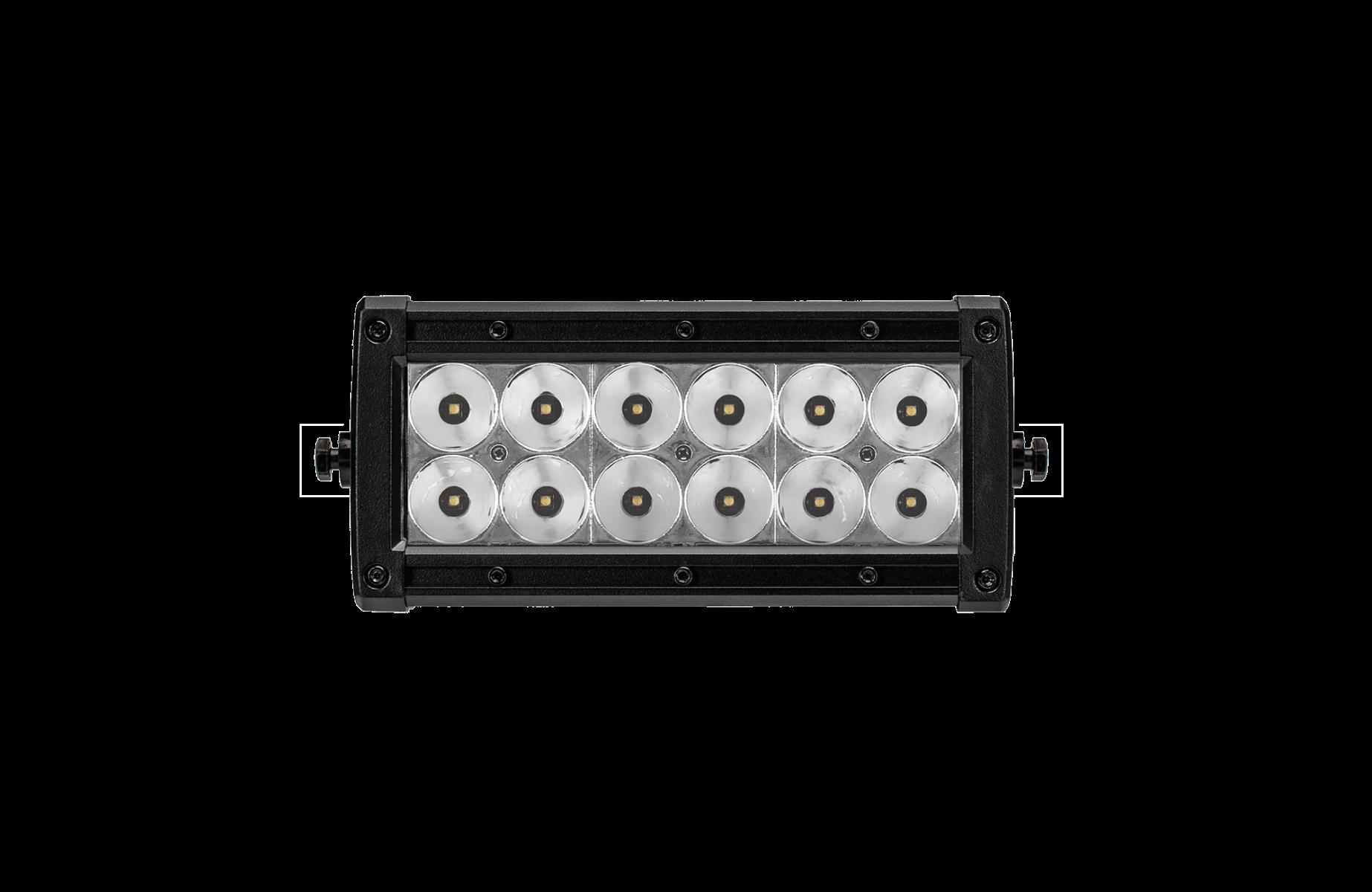 6 Inch LED Light Bar Dual Row Combo Beam Nightfall Collection Lightforce