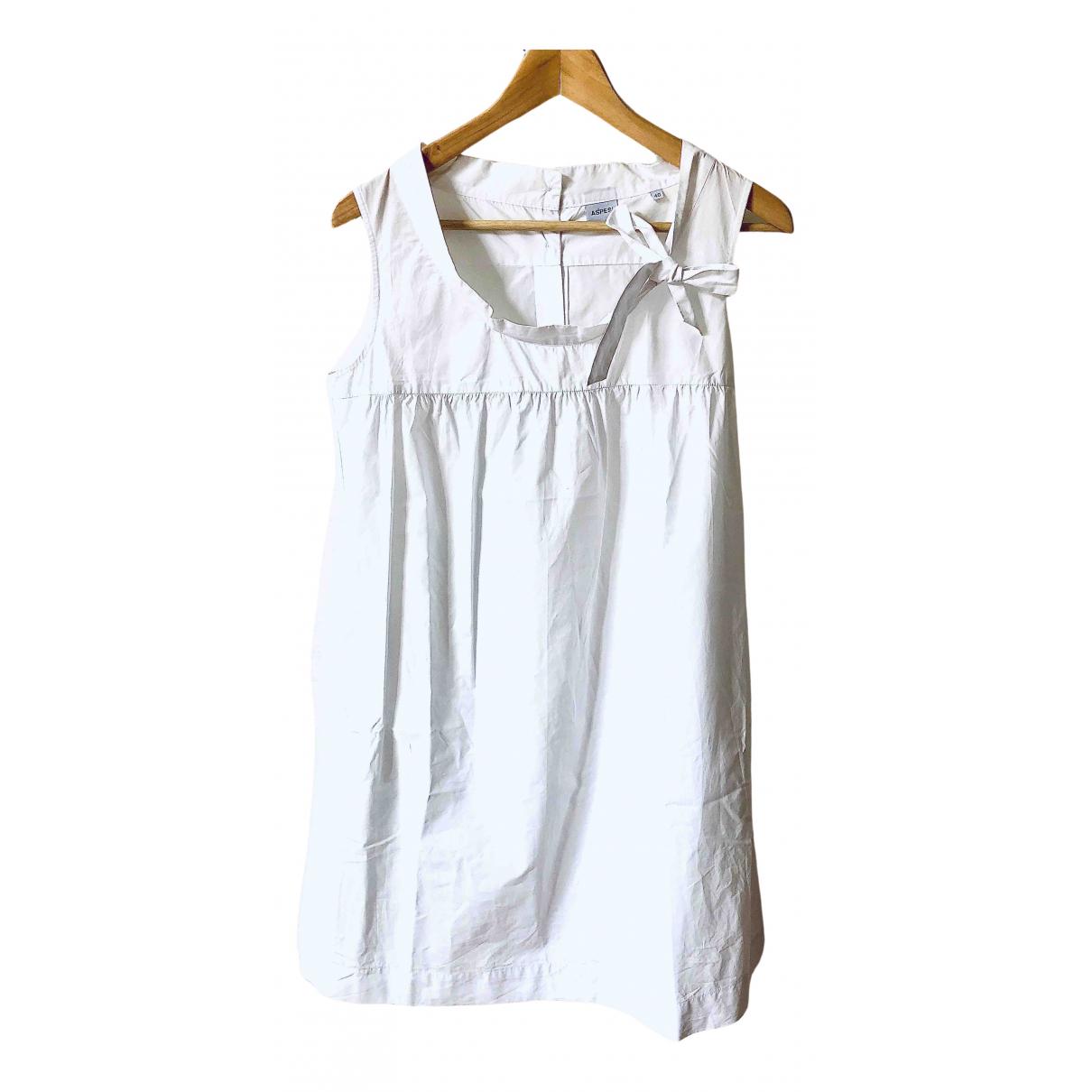 Aspesi \N Kleid in  Weiss Baumwolle