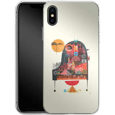 Apple iPhone X Silikon Handyhuelle - Sound of Joy von Victoria Topping