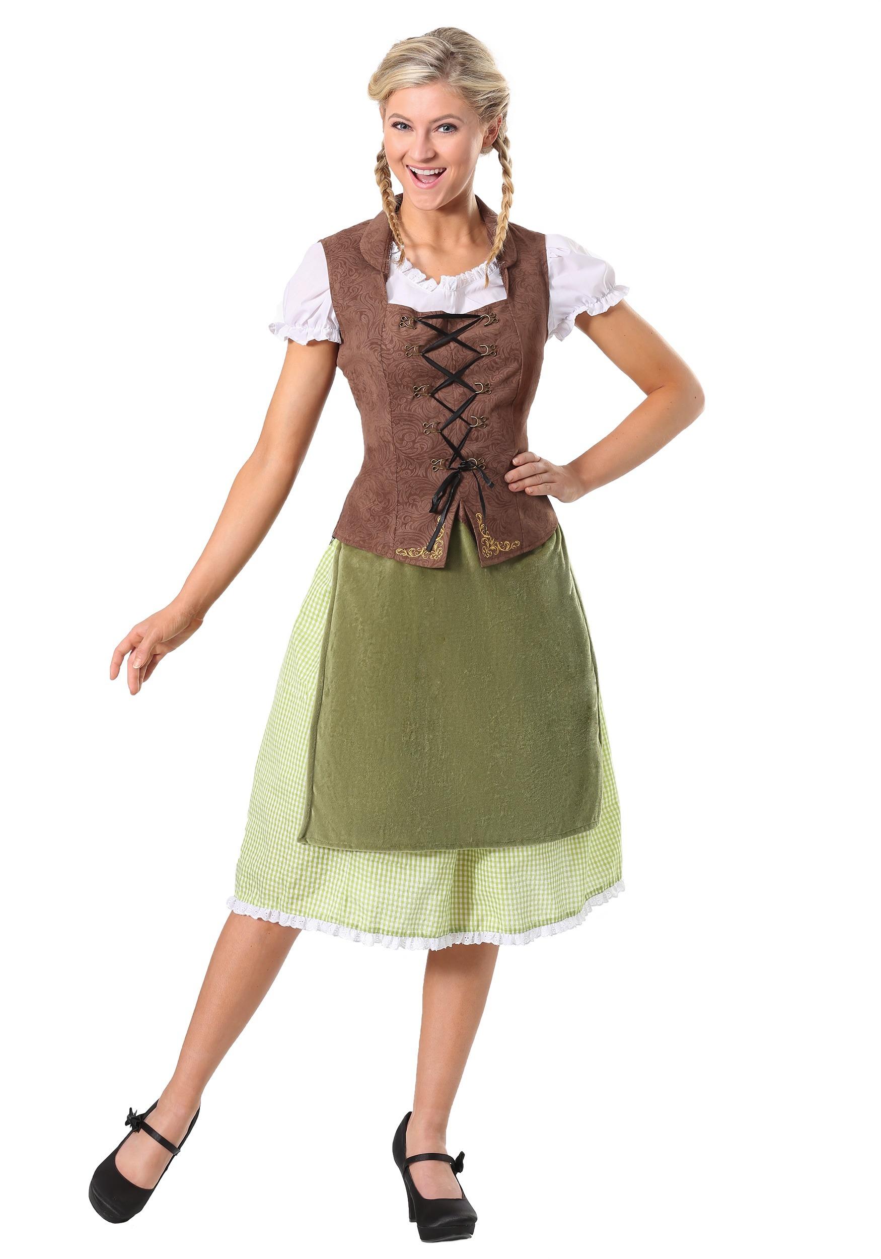 Women's German Alpine Beauty Costume