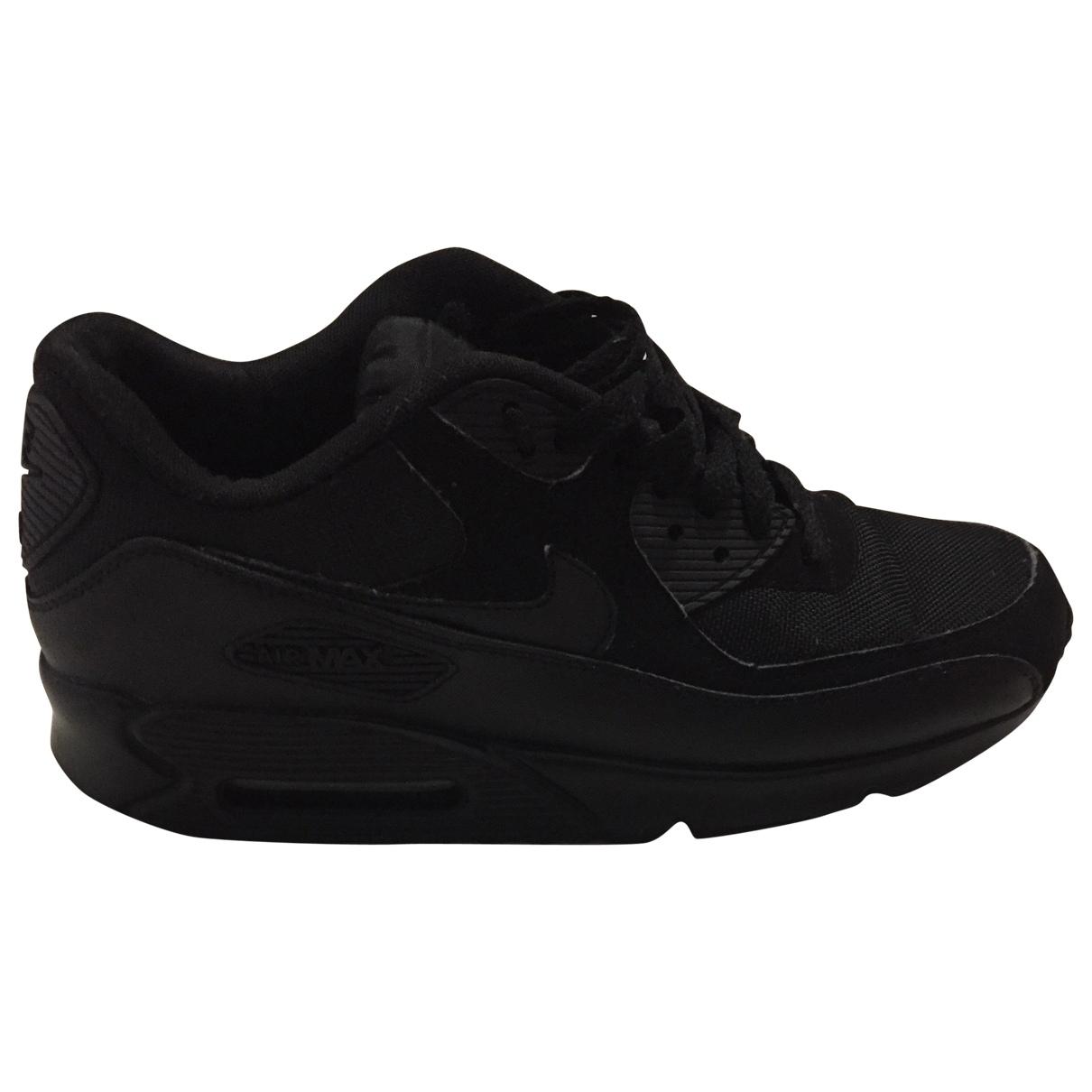 Nike Air Max 90 Sneakers in  Schwarz Leinen