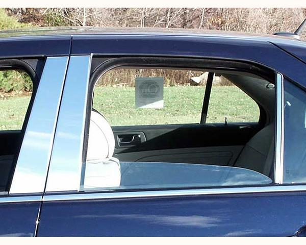 Quality Automotive Accessories 6-Piece Pillar Post Trim Kit Cadillac STS 2010