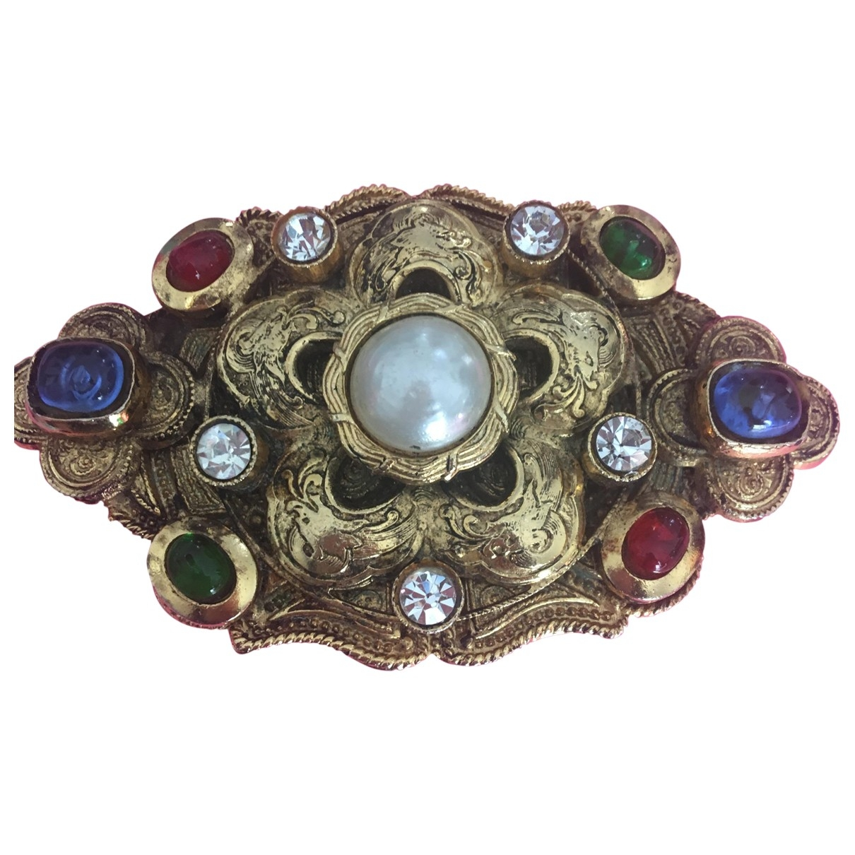 Chanel \N Multicolour Crystal Pins & brooches for Women \N