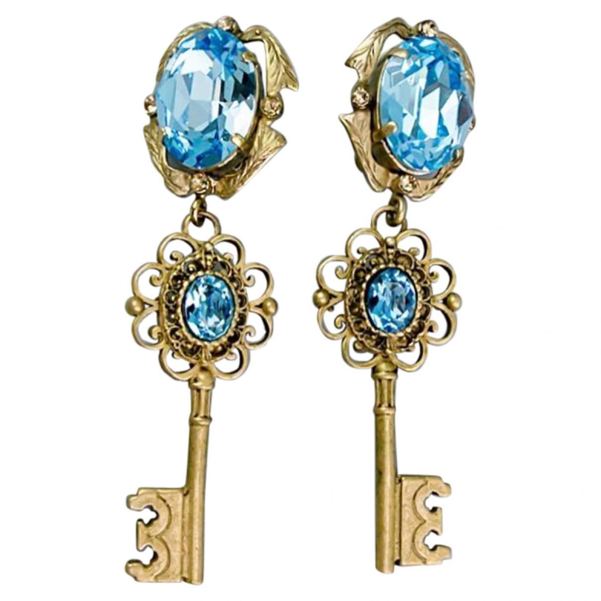 Dolce & Gabbana \N OhrRing in  Gold Metall