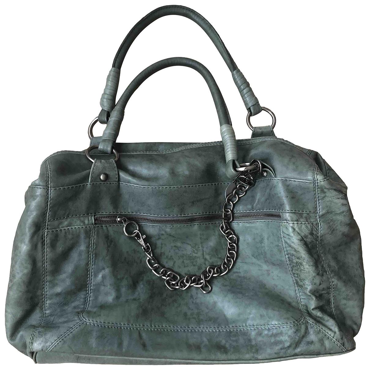Stills Atelier - Sac a main   pour femme en cuir - vert