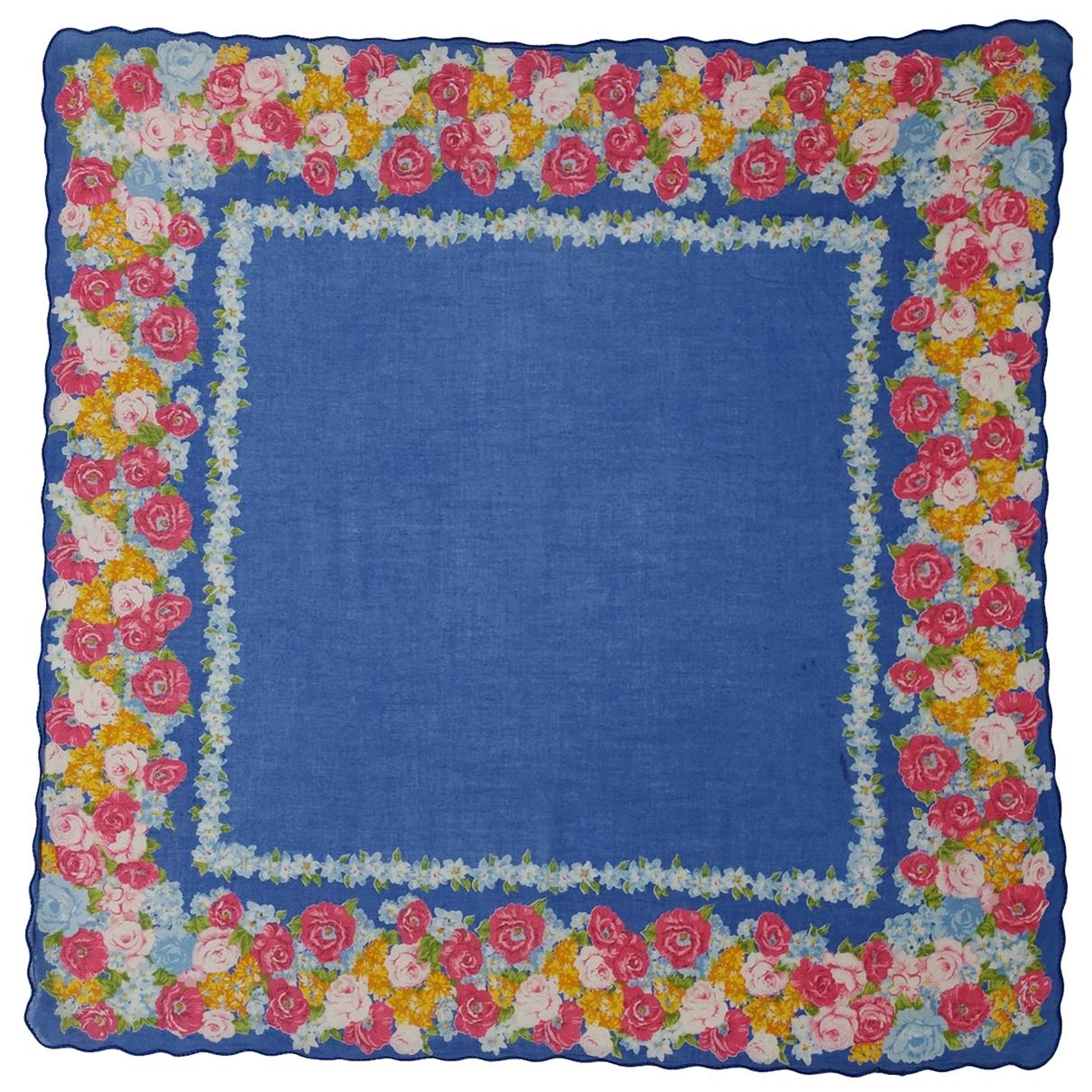 Kenzo \N Multicolour Cotton Silk handkerchief for Women \N