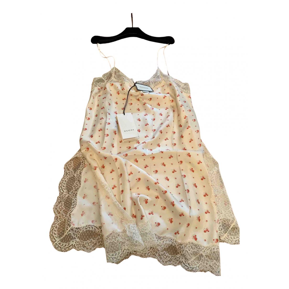 Mini vestido de Seda Gucci