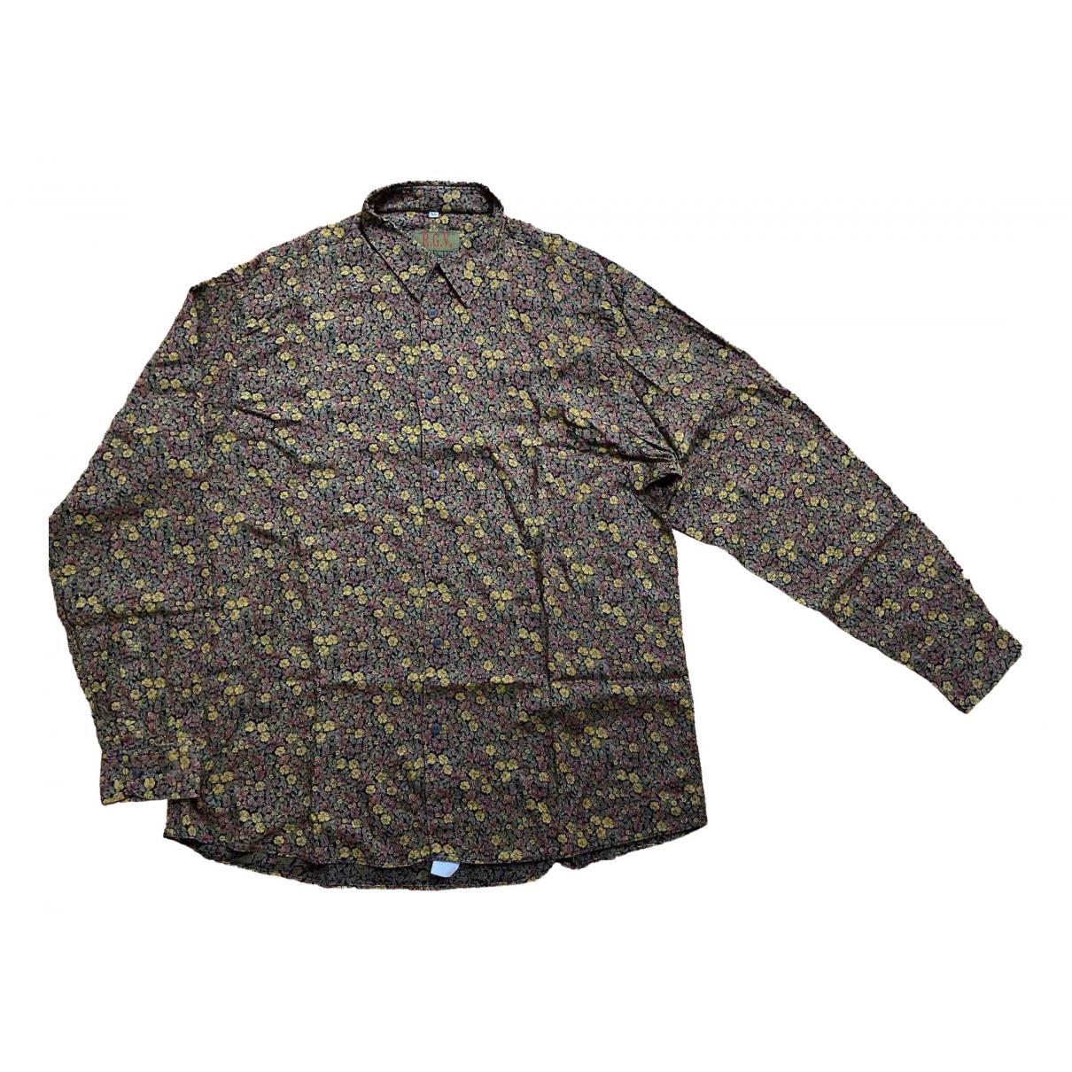 - Chemises Oversize pour homme - multicolore