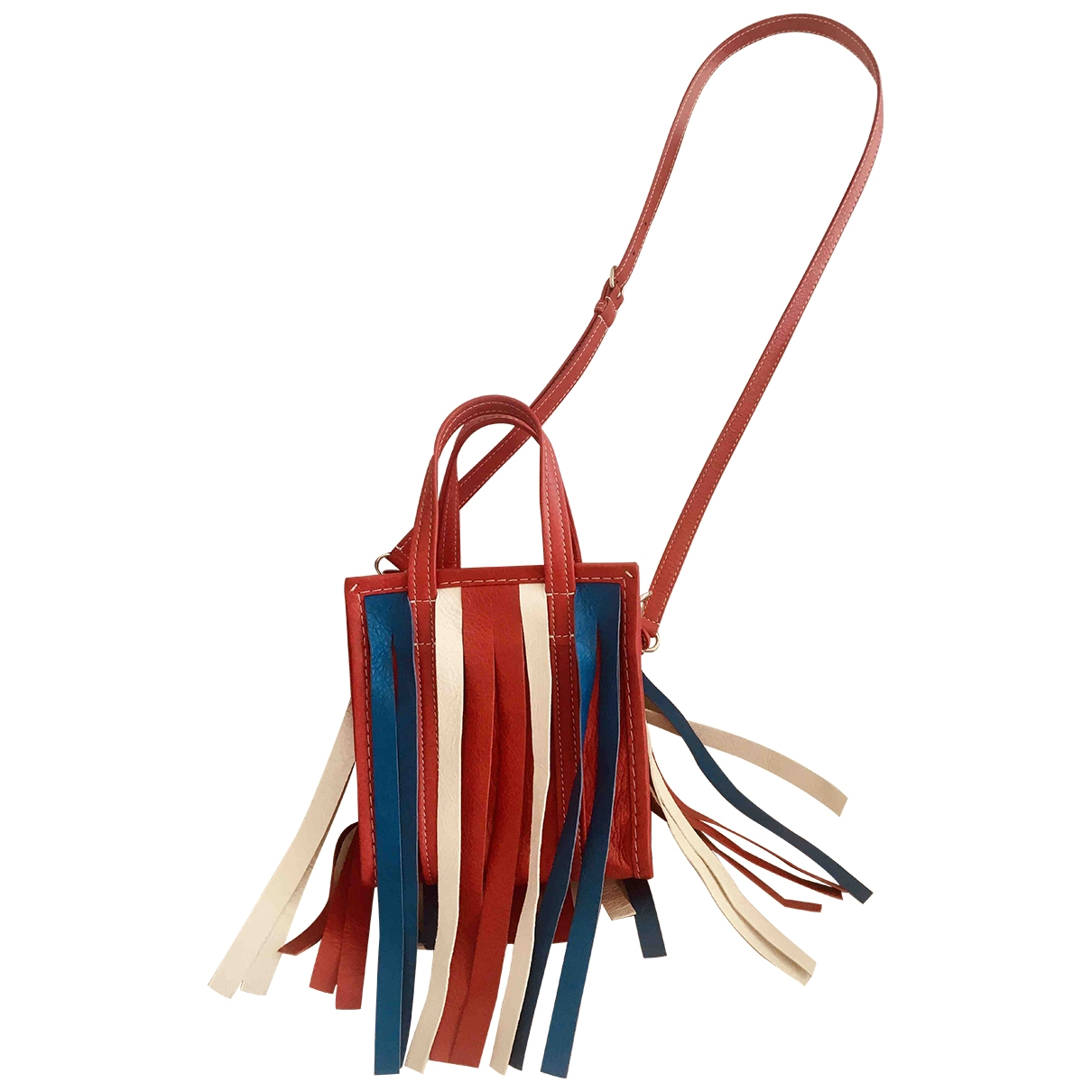 Balenciaga Bazar Bag Red Leather handbag for Women \N