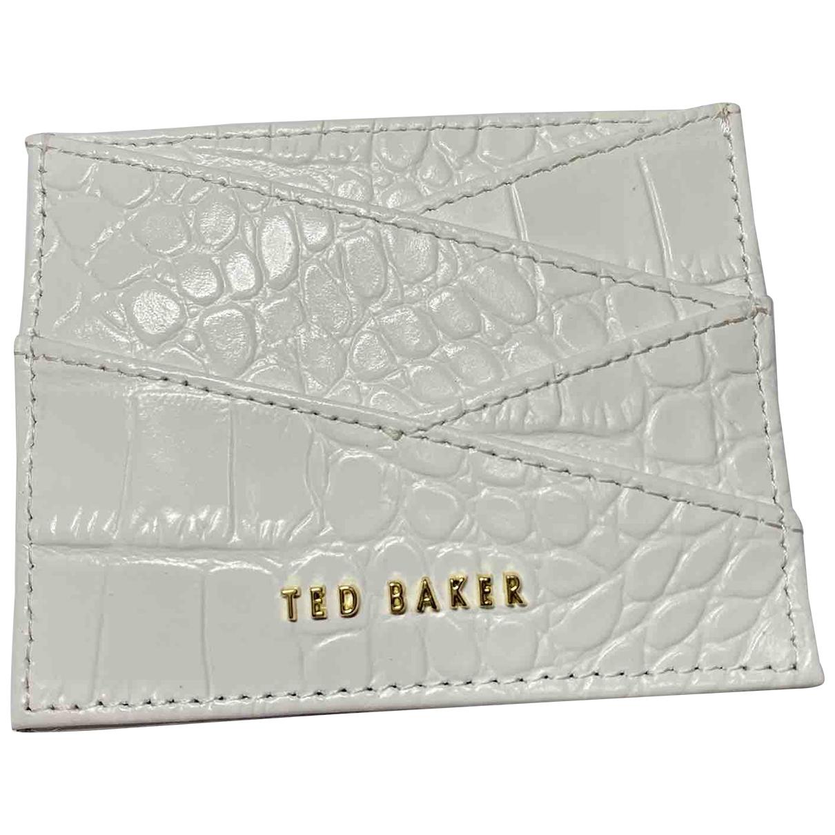 Ted Baker - Petite maroquinerie   pour femme en autre - blanc