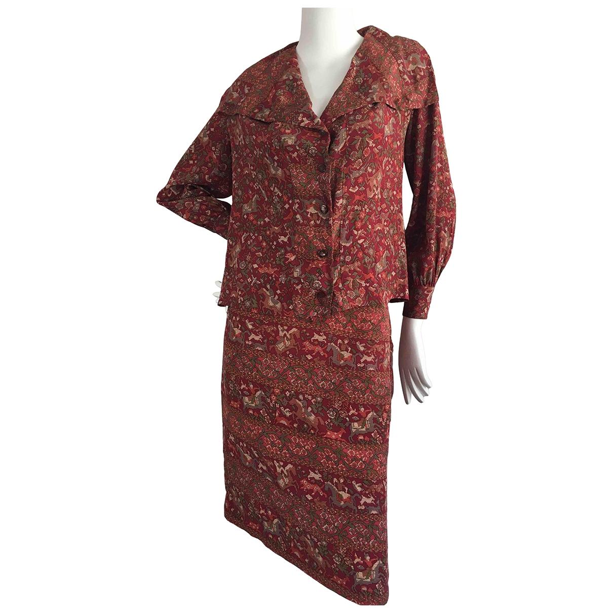 Celine \N Multicolour Silk  top for Women 38 FR