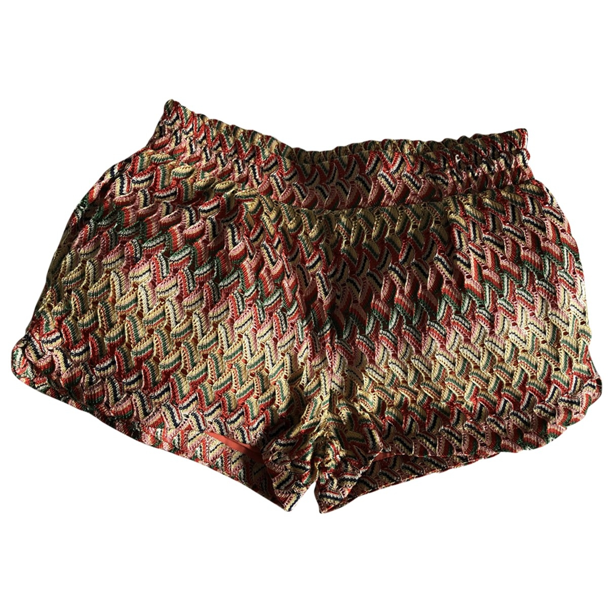 Non Signé / Unsigned \N Multicolour Tweed Shorts for Women M International