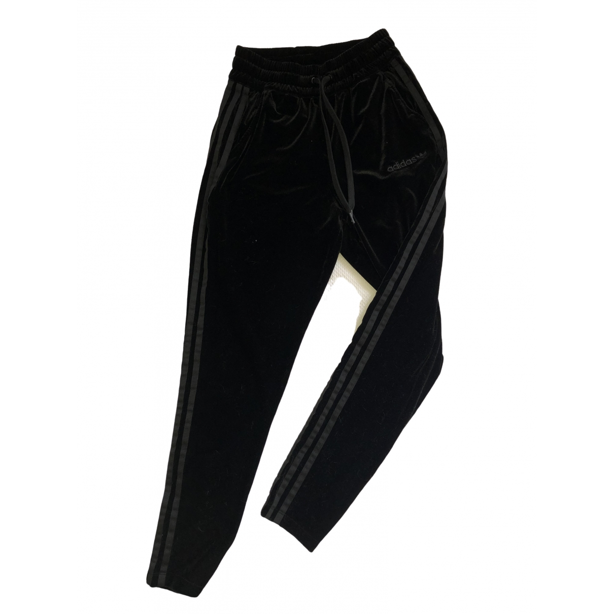 Adidas \N Black Trousers for Women 6 UK