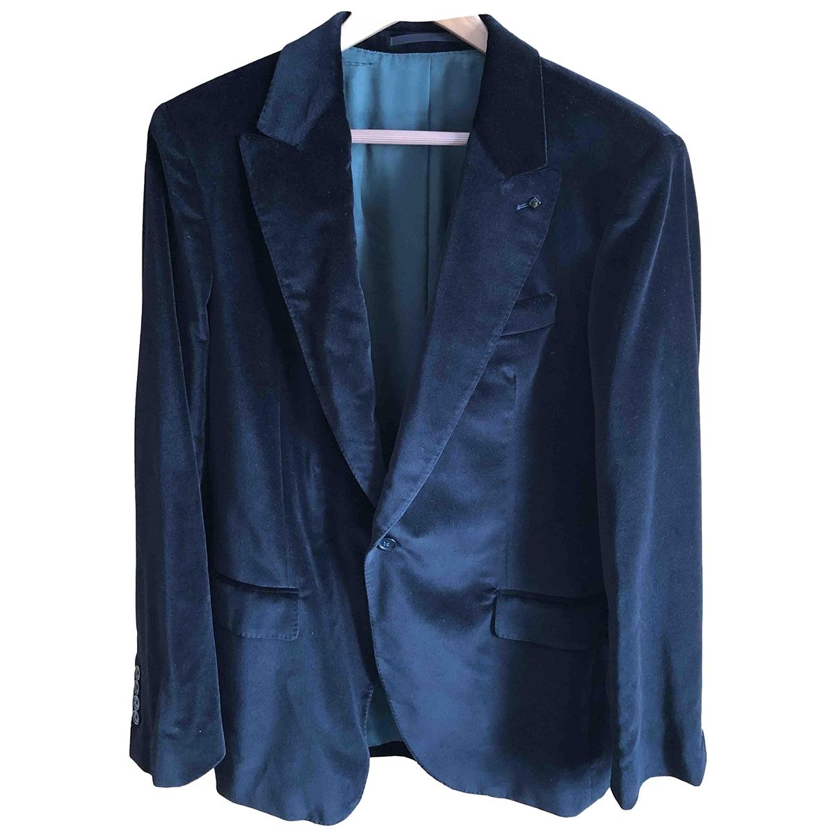 Non Signé / Unsigned \N Black Velvet jacket  for Men M International