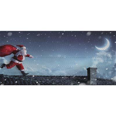 Jeep Wrangler Grill Inserts 07-18 JK Santa On A Roof Under The Sun Inserts INSRT-SNTARF-JK