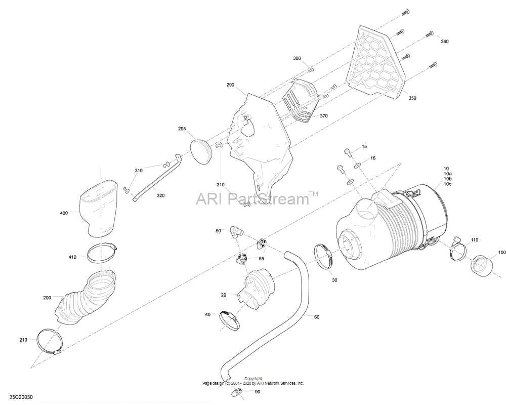 Can-AM OEM Inlet Hose