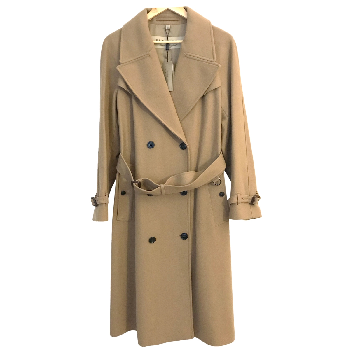 Burberry \N Trench in  Kamel Wolle