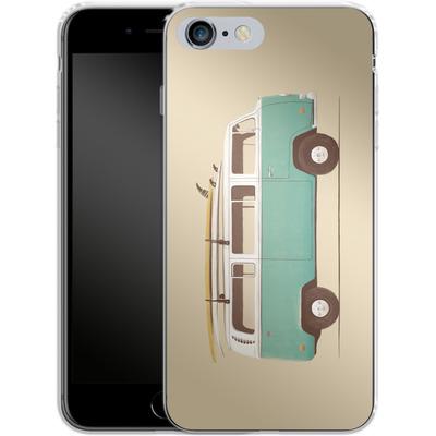 Apple iPhone 6s Plus Silikon Handyhuelle - Blue Van von Florent Bodart