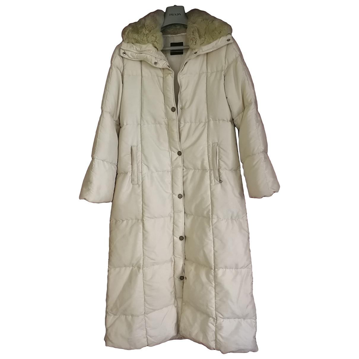 Max Mara Weekend - Manteau   pour femme - blanc