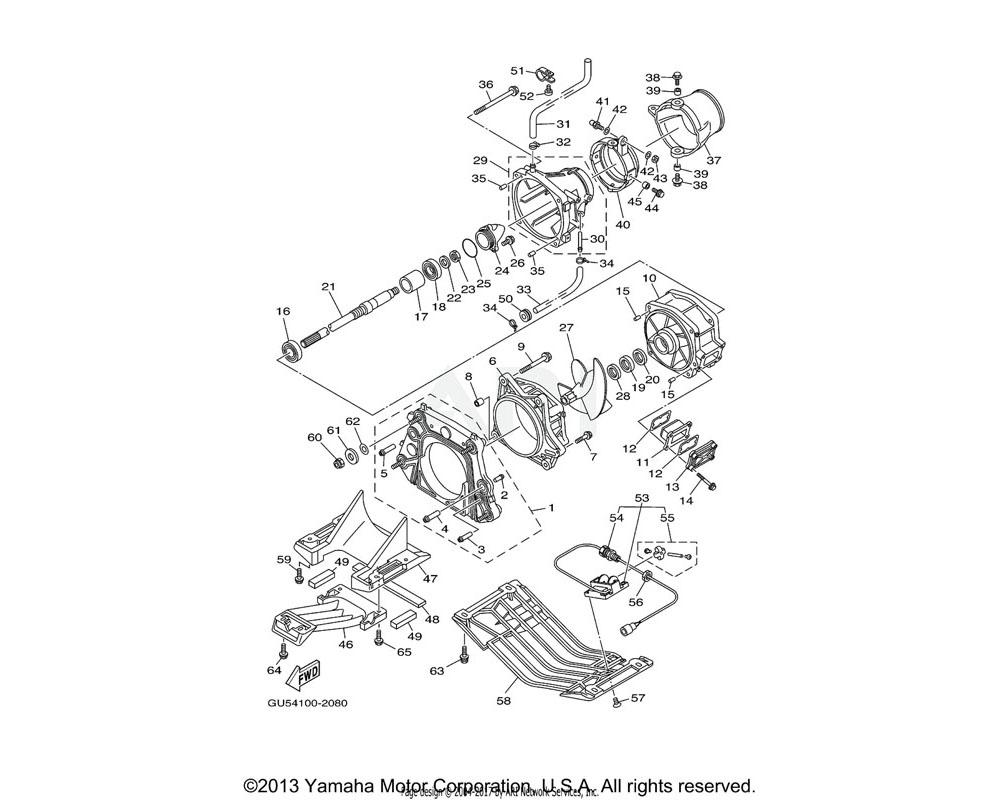 Yamaha OEM 90119-08852-00 BOLT,WITH WASHER | YMUS