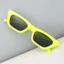 Maenner Sonnenbrille mit Katze Augen Design