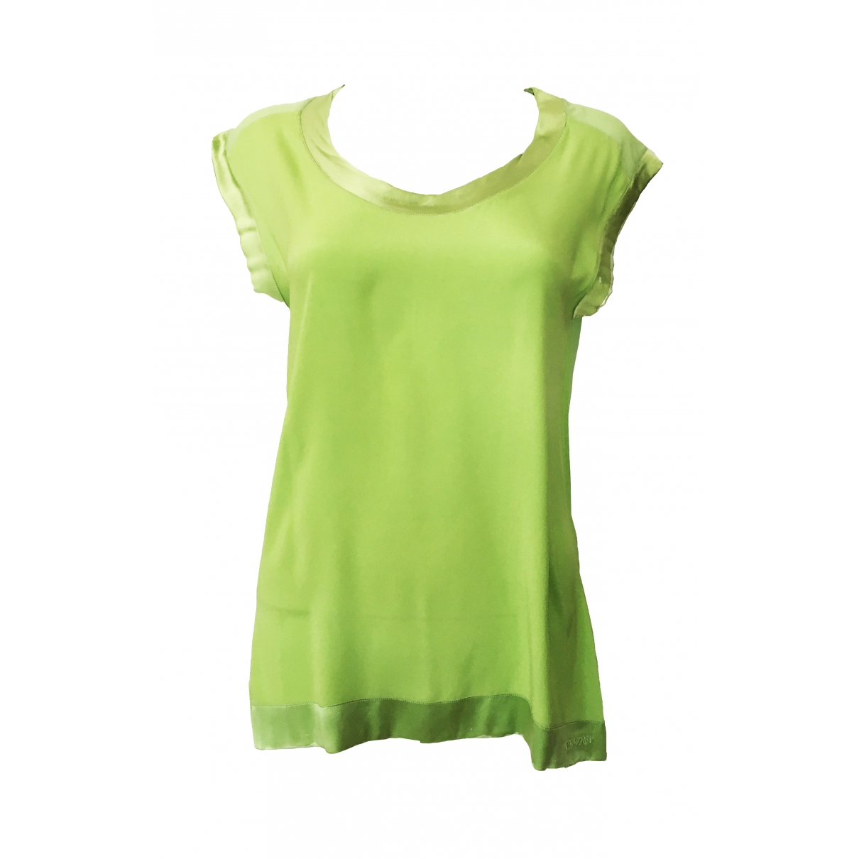 Missoni \N Green Silk  top for Women 42 IT