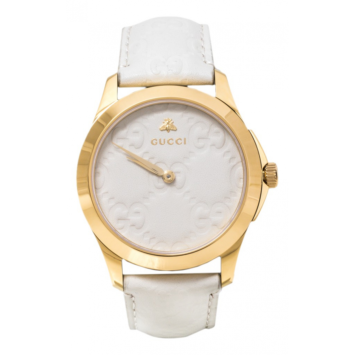 Gucci \N White Steel watch for Women \N
