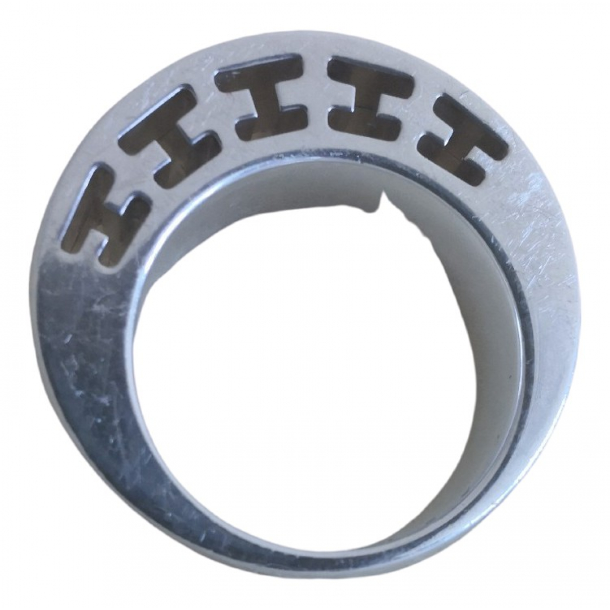 Hermes Clarte Ring in  Silber Silber
