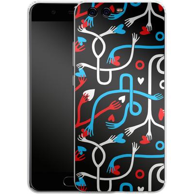 Huawei P10 Silikon Handyhuelle - Heartfelt von Jenna Kunnas