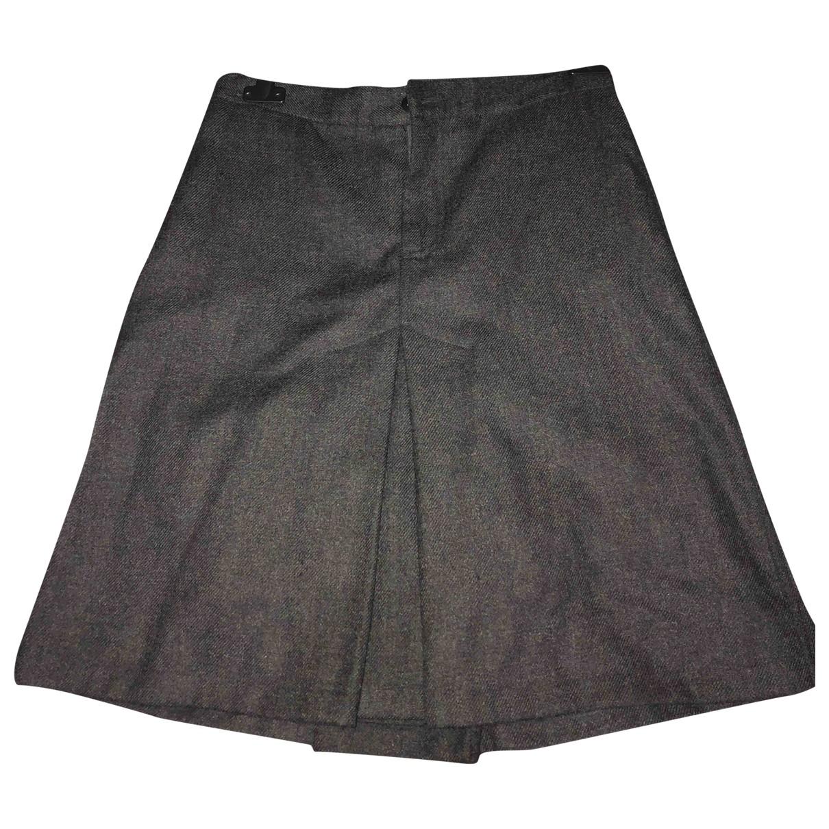 Polo Ralph Lauren - Jupe   pour femme en laine - gris