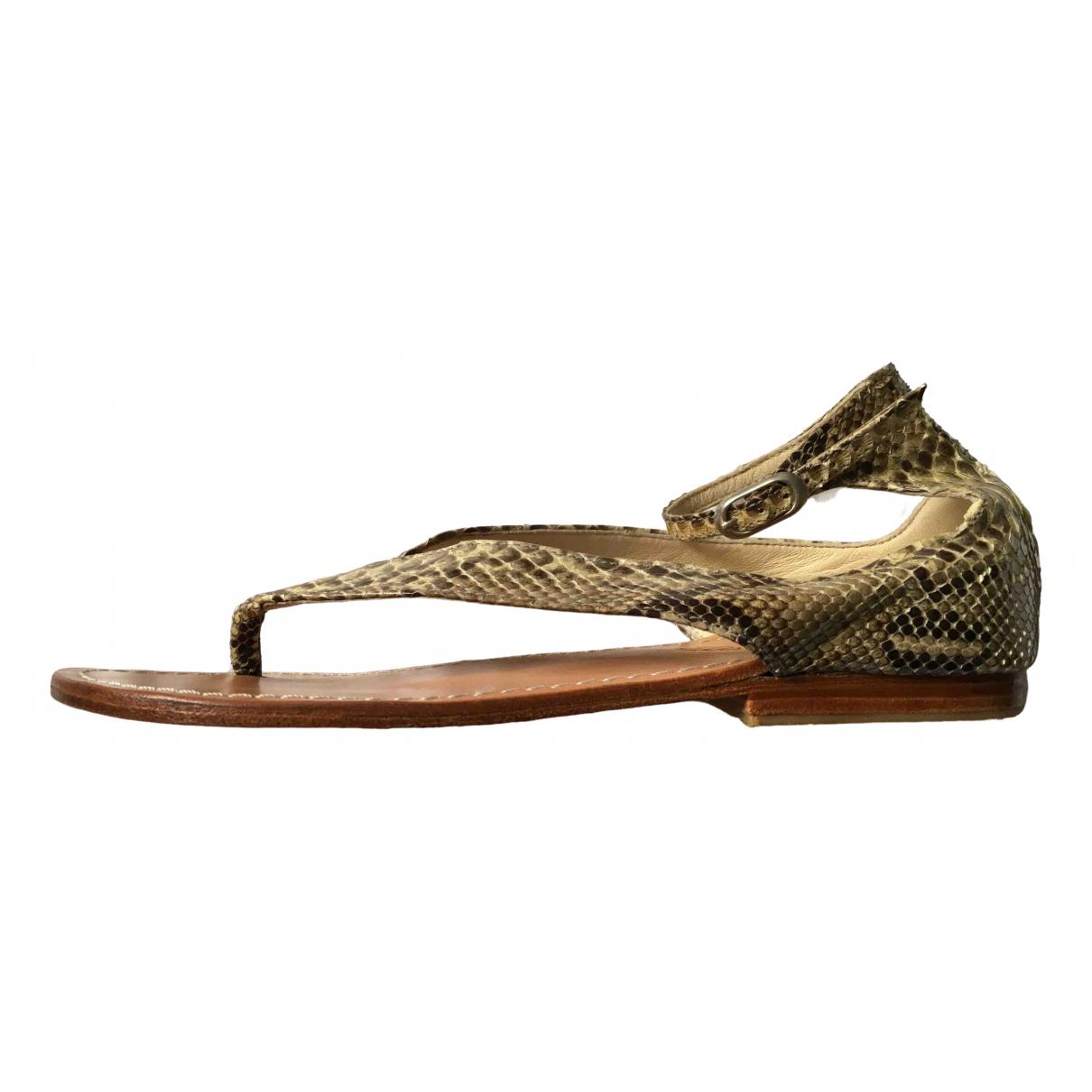 Tatoosh \N Sandalen in  Beige Wasserschlangen
