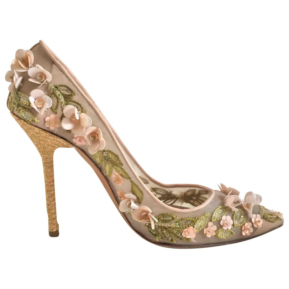 Dsquared2 \N Pink Glitter Heels for Women 38 EU