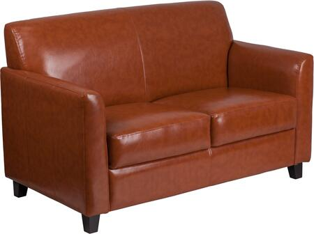 BT-827-2-CG-GG HERCULES Diplomat Series Cognac Leather