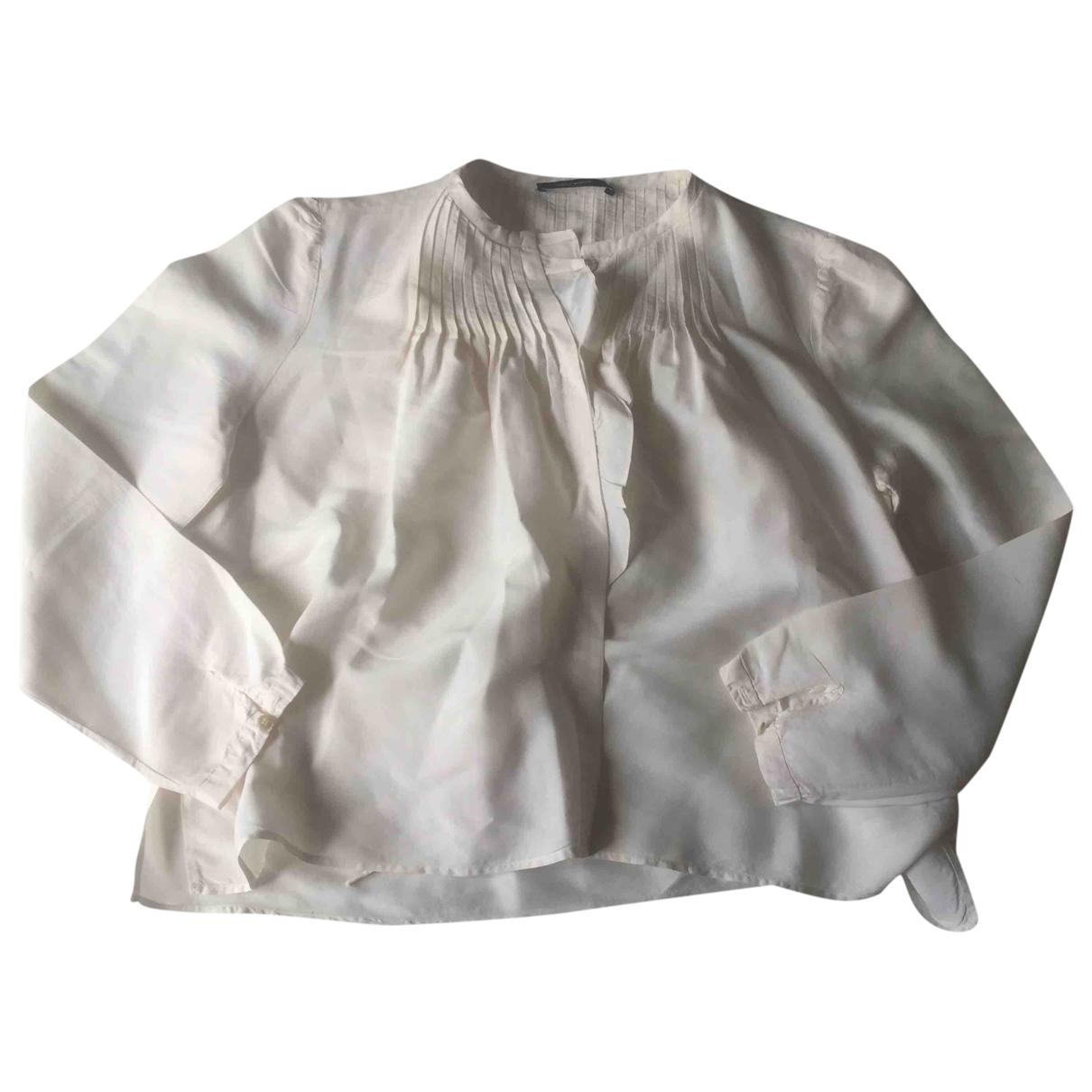Isabel Marant - Top   pour femme en soie - blanc