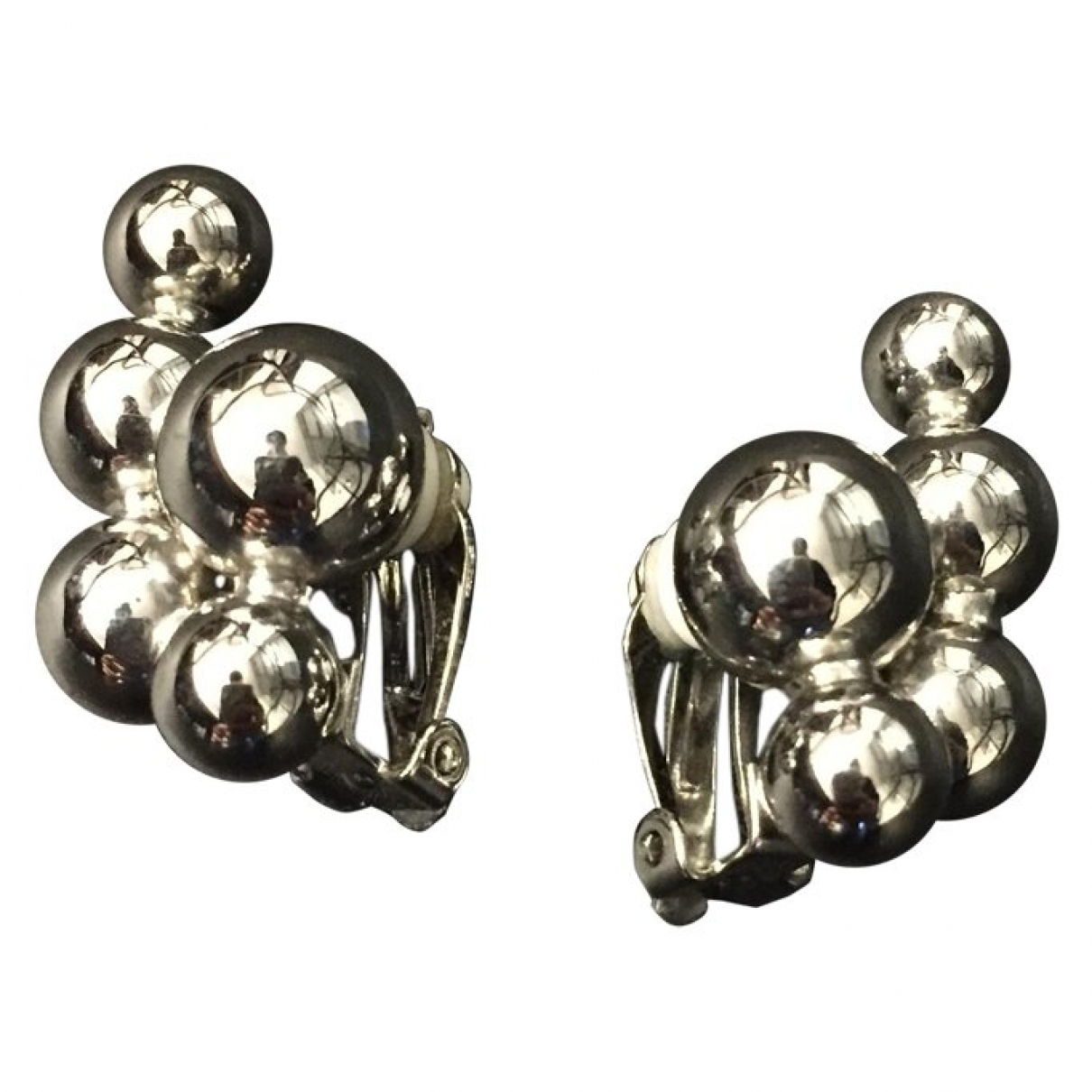 & Stories \N Silver Metal Earrings for Women \N