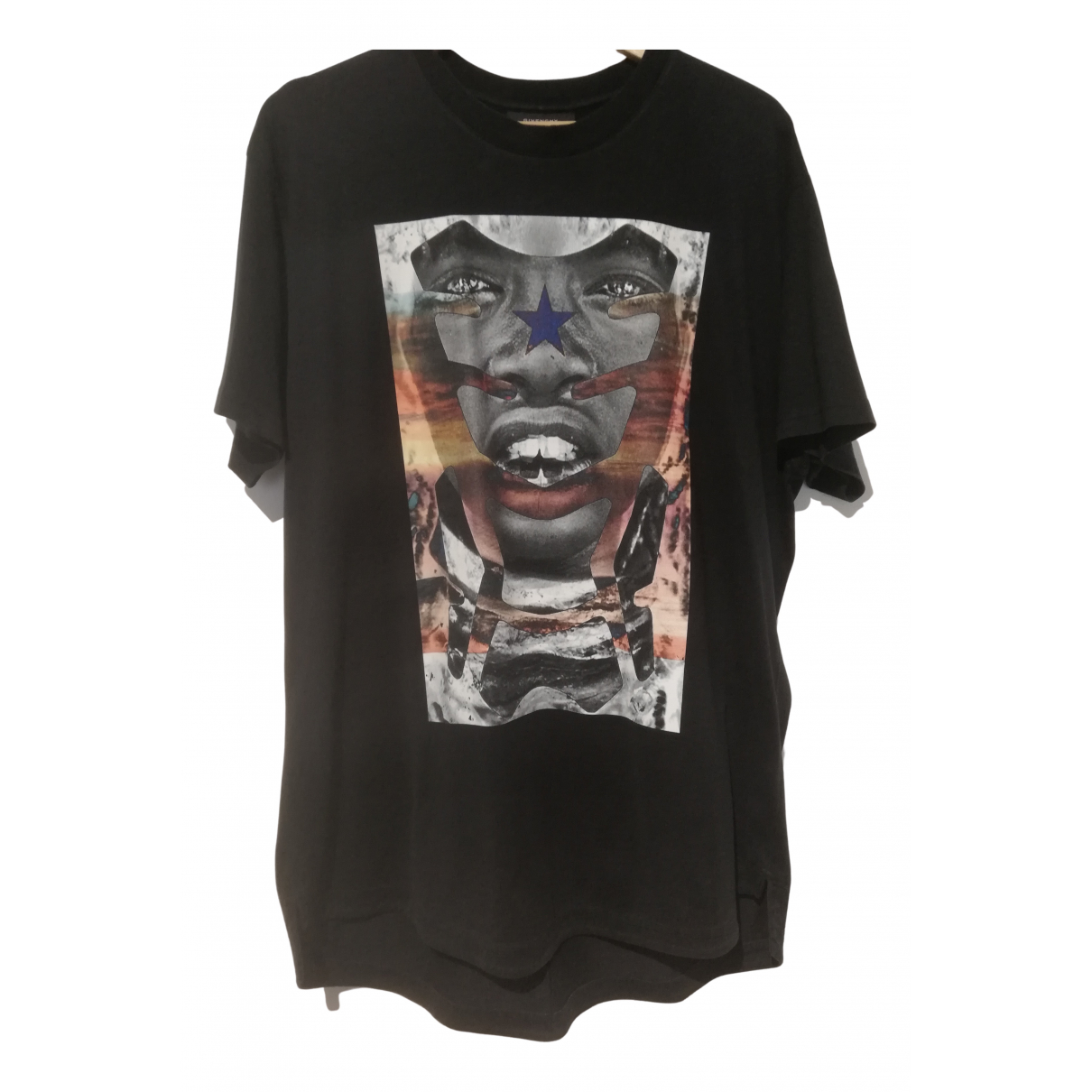 Givenchy N Black Cotton T-shirts for Men S International