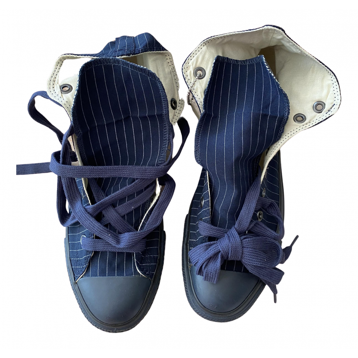 Converse \N Sneakers in  Marine Leinen