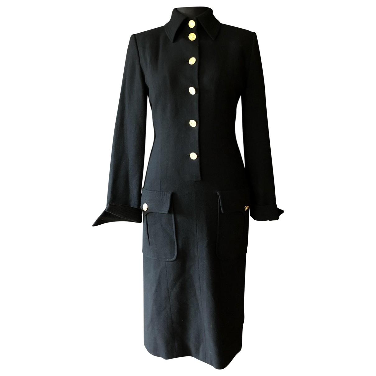 Celine \N Black Wool dress for Women 38 FR
