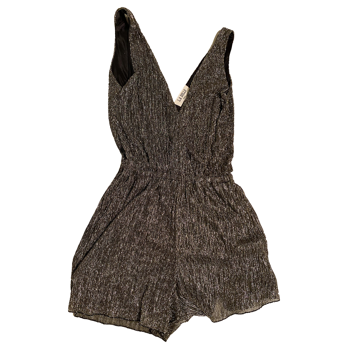 Non Signé / Unsigned N Gold jumpsuit for Women S International