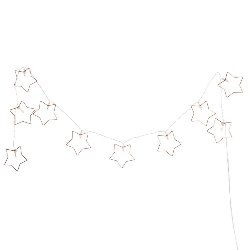 Leuchtgirlande Sterne L160