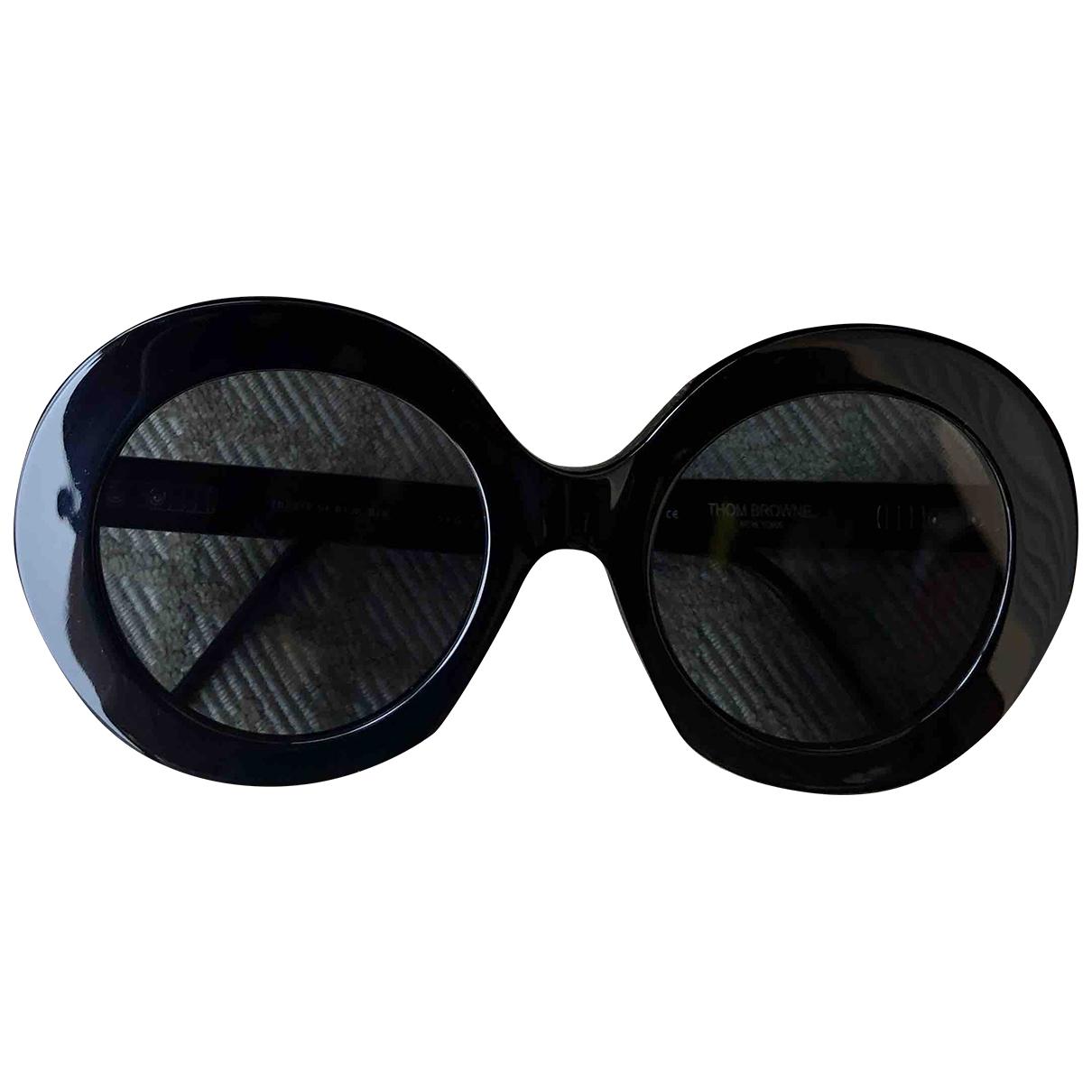 Thom Browne \N Sonnenbrillen in  Schwarz Kunststoff